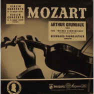 Arthur Grumiaux, Vienna Symphony Orchestra, Bernhard Paumgartner - Mozart Violin Concertos in D and in A