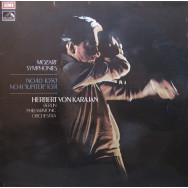 "Berlin Philharmonic Orchestra, Herbert Von Karajan - Mozart Symphonys Nos. 40  and 41 ""Jupiter"""