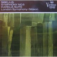 London Symphony Orchestra, Alexander Gibson - Sibelius Symphony No.5 in E flat, Opus 82 / Karelia Suite, Opus 11